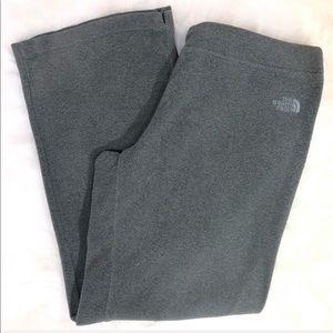 The North Face Gray Polartec Classic Fleece Pants